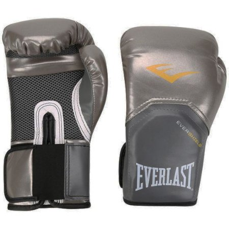 Luva de Boxe Pro Style Elite Everlast Prata - 10oz