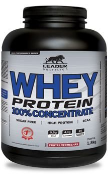 Whey Protein HP Pote (1,8kg) Leader Nutrition