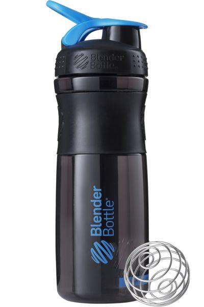 Blender Bottle Sport Mixer (830ml) Preto/Azul