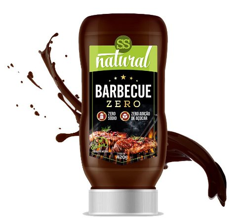 Molho Barbecue Zero Sódio (420g) SS Natural