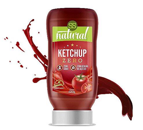 Ketchup Zero Sódio (420g) SS Natural