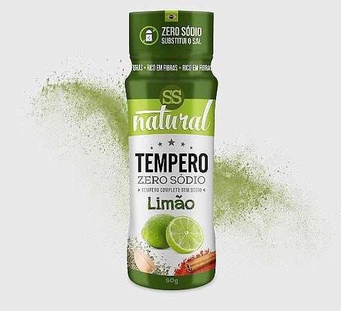 Tempero Limão Zero Sódio (50g) SS Natural