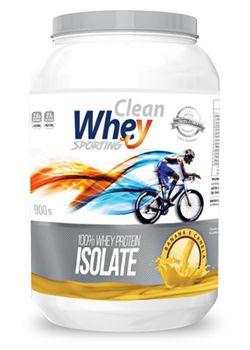Clean Whey Isolado Sporting (900g)  Glanbia