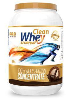 Clean Whey Concentrado Sporting (900g) Glanbia