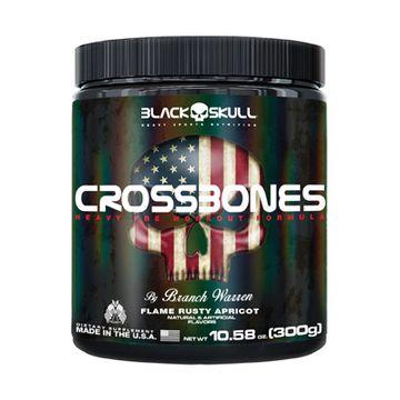 Crossbones (300g) Black Skull