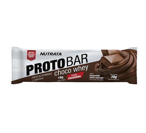 Proto Bar Choco Whey ( 70g ) Nutrata