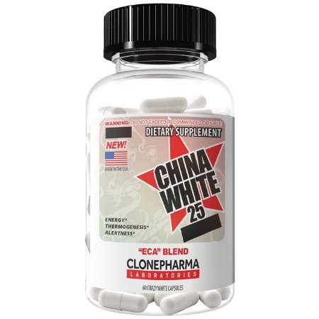 China White 25 (60 cápsulas) Clone Pharma
