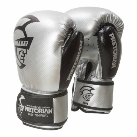 Luva de Boxe Pretorian Trainning - PRATA