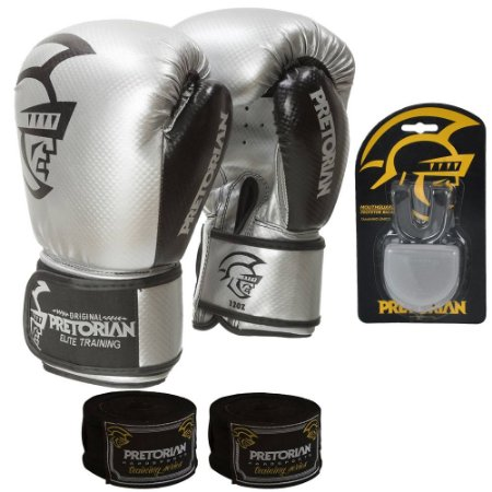 Kit Boxe e Muay Thai Pretorian Trainning - PRATA
