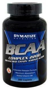 BCAA Complex 2200 (200 cápsulas) Dymatize