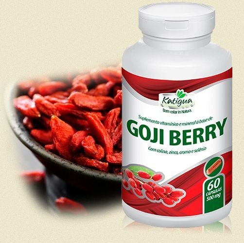 Goji Berry - 500mg (60 cápsulas) NatuBell
