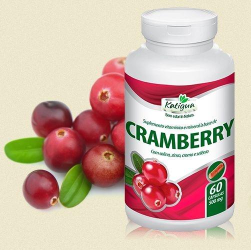 Cranberry 500mg (60 cápsulas) NatuBell