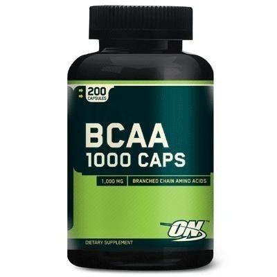 BCAA 1000mg (200 cápsulas) Optimum Nutrition