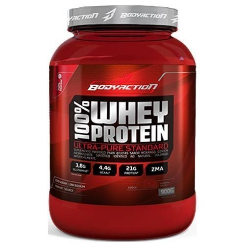 100% Whey Protein (900g) Body Action