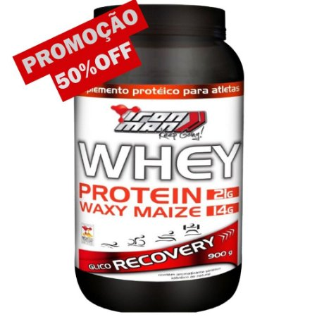 Whey Protein Recovery Iron Man (900g) New Millen