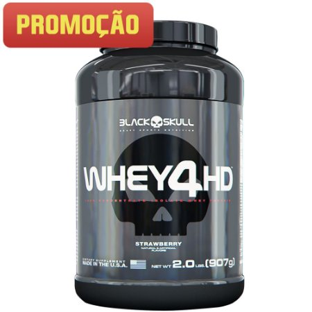 Whey 4HD (907g) Black Skull