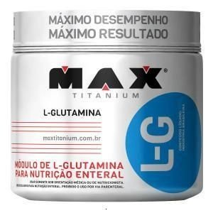 Glutamina L-G  Max Titanium