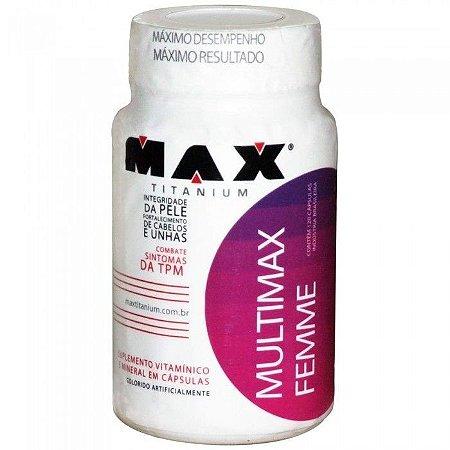 Multimax Femme (60 cápsulas) Max Titanium