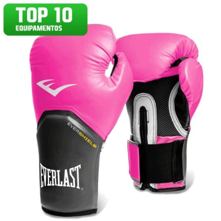ae2339137 Luva de Boxe e Muay Thai Pro Style Rosa Everlast - FH Brasil ...