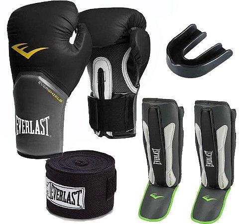 fc0344f60 Kit Muay Thai Everlast - FH Brasil Suplementos e Artigos Esportivos