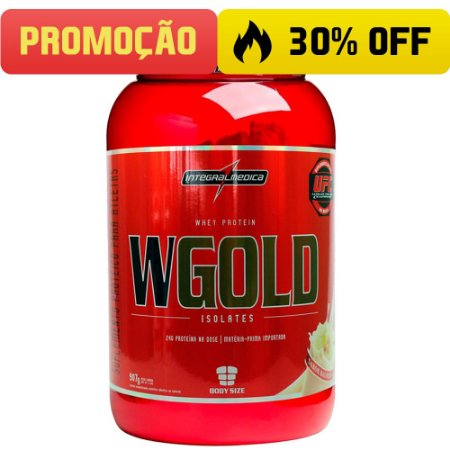W Gold Whey Isolates (907g) Integralmédica