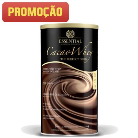 Cacao Whey (450g) Essential Nutrition
