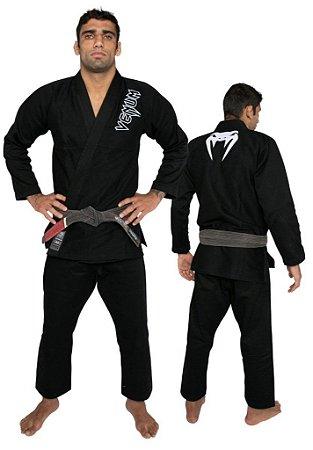 Kimono Jiu-jitsu Venum Contender - PRETO