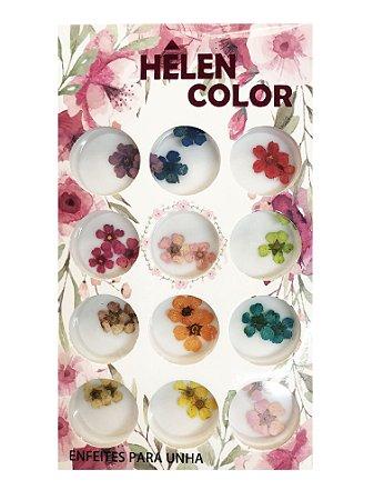 Flores secas para encapsular - Hêlen Color - FS1