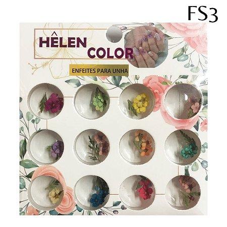 Flores secas para encapsular - Hêlen Color - FS3
