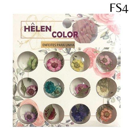 Flores secas para encapsular - Hêlen Color - FS4