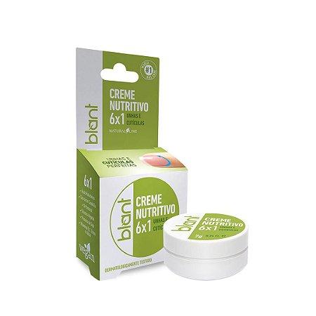 Creme Nutritivo Para Unhas E Cutículas 6x1 Vegano 7g Blant