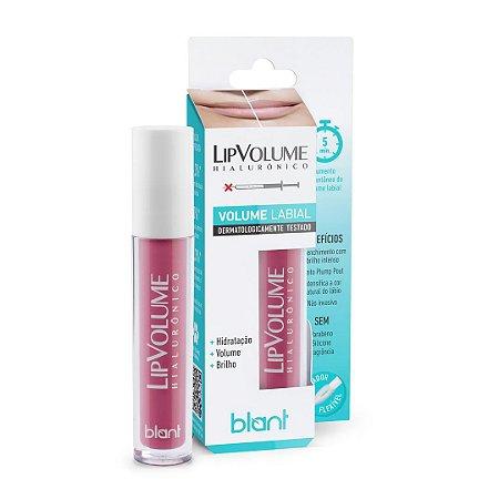 Lip Volume Hialurônico Gloss Volume Labial Rosa 4ml Blant