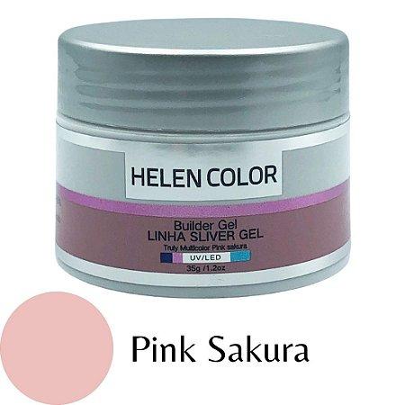 Gel para Unhas de Gel Helen Color Silver – Pink Sakura 35g