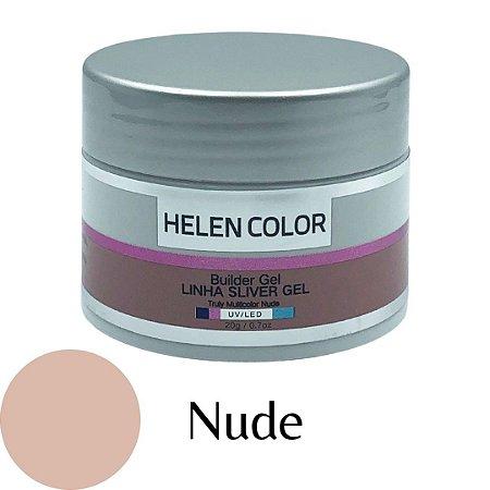 Gel para Unhas de Gel Helen Color Silver – Nude 20g