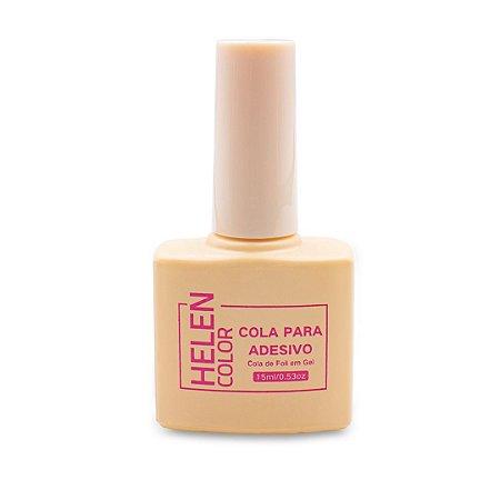 Cola Nail Foil Gel 15ML Secar na Cabine Led uv, Helen Color