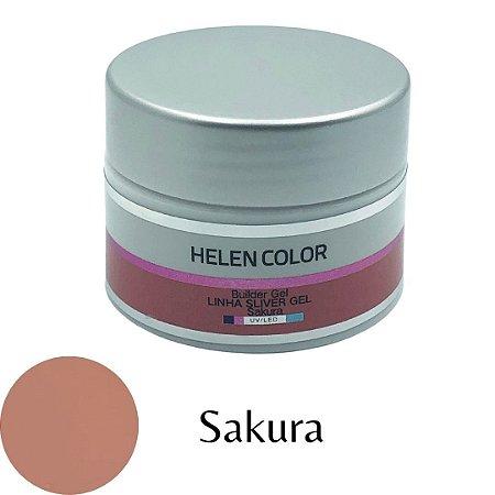 Gel para Unhas de Gel Helen Color Silver – Sakura 35g