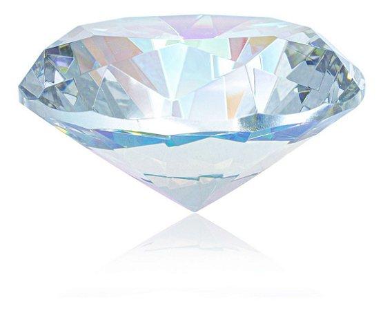 Jóia Diamante Decoração Fotos Unhas Gel Furta-cor Grande