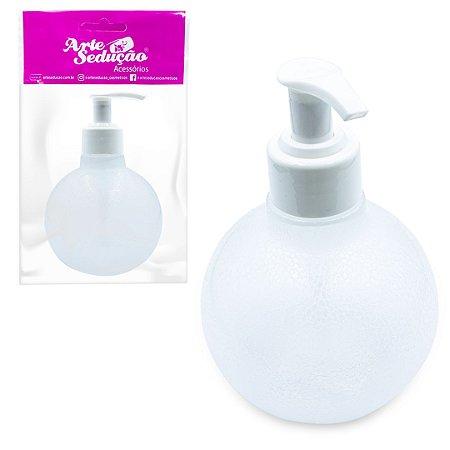 Saboneteira Bolinha Válvula Pump P/ Álcool Gel Frasco 320ml
