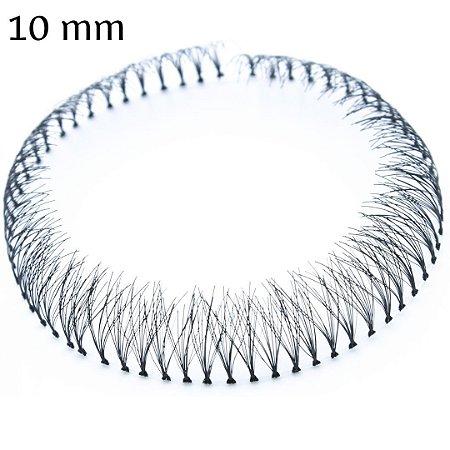 Tufo De Cílios Postiços 10 mm, 1 Unidade, Arte Sedução
