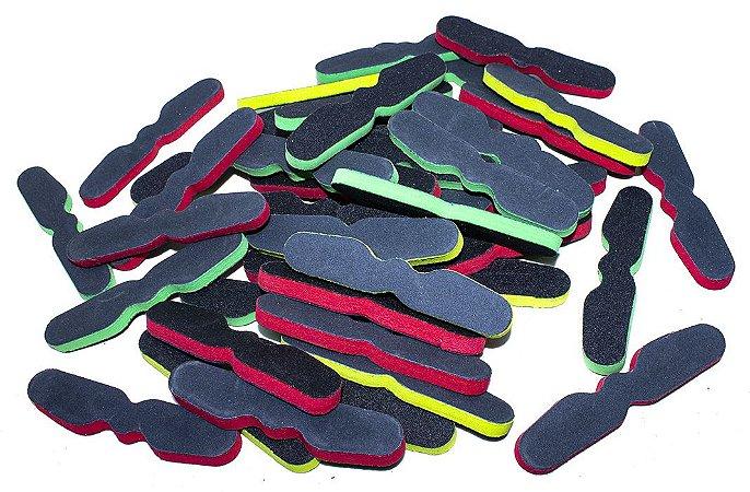 Lixa Mini Polidora Gravatinha, 100 unidades, Arte Sedução