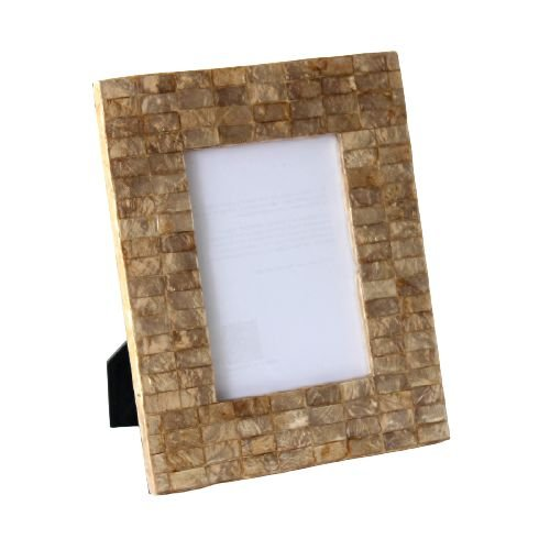 Porta Retrato em Madrepérola Mosaico Horizontal 10x15