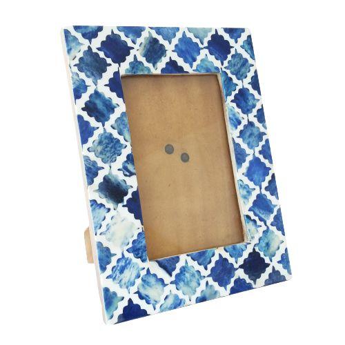 Porta Retrato em Ossos azuis 20x25