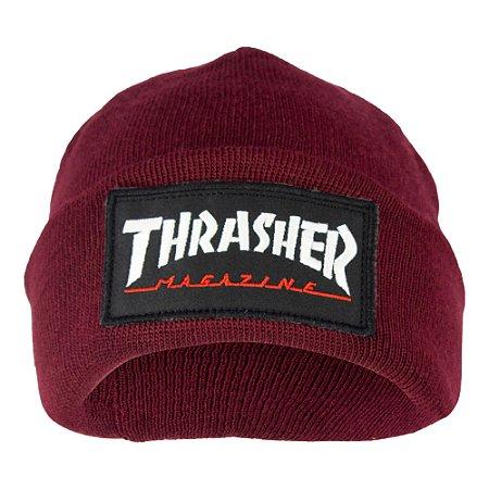 Touca Thrasher Logo Pach Vermelho