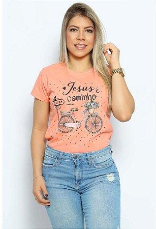 T Shirt Jesus é o caminho