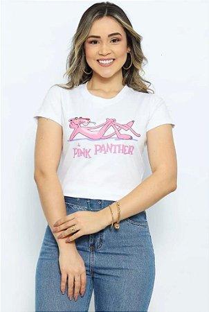 T Shirt Pantera Pink deitada