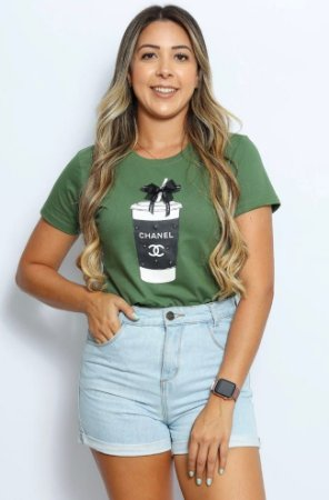 T Shirt copo Chanel