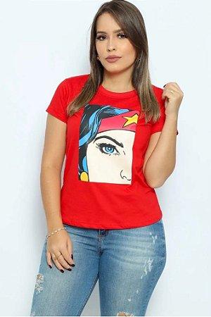 T Shirt Mulher Maravilha
