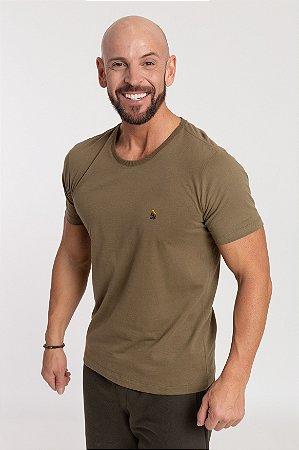 Camiseta Basic Militar