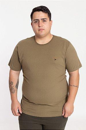 Camiseta Plus Size Militar