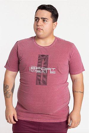 Camiseta Plus Size Sport